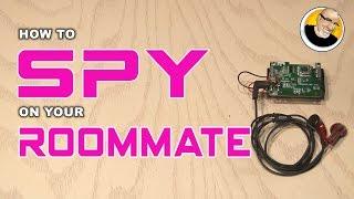 getlinkyoutube.com-How-to Spy on your Roommate!