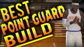 getlinkyoutube.com-NBA 2K16 Tips: Best POINT GUARD Build - How To Create a DOMINANT 99 OVERALL PG in 2K16!