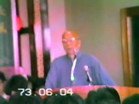 19840604 彌勒佛院 歡送72年度 學界大會 老前人慈悲