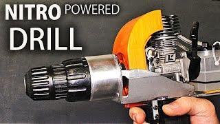 getlinkyoutube.com-How to Make A Nitro Engine Powered DRILL