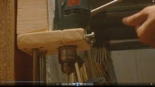 getlinkyoutube.com-Как сделать сверлильный станок Homemade Drill Press