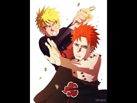 UNRS : Naruto and Hinata Vs Pain Full Fight.