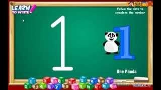 getlinkyoutube.com-Learn to Write Numbers | Preschool Number Writing Game