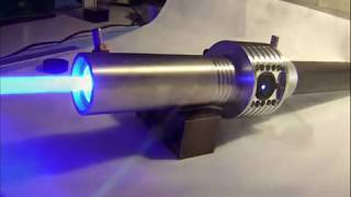 getlinkyoutube.com-🔴 Worlds most powerful visible handheld laser / 7.3W Triple Diode Array (7,300mW)