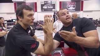 "getlinkyoutube.com-Strong Arm Tough Guys ""Pull"" In Vegas"