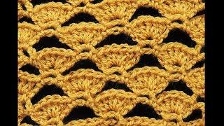 getlinkyoutube.com-Crochet : Abanicos Calados