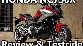 getlinkyoutube.com-2016 Honda NC750x Review & Testride - Part 2