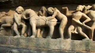 getlinkyoutube.com-Thousand year old erotic sculptures at Khajuraho, India