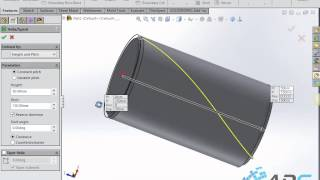 getlinkyoutube.com-Make Knurled in SolidWorks 2015