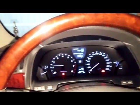 Свист роликов или ремня на Lexus LS460L