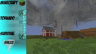 getlinkyoutube.com-Minecraft Tornado Survival (Localized Weather Mod) S5E22