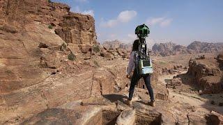 Explore Petra with Queen Rania on Google Maps - اكتشف البتراء مع الملكة رانيا العبدالله