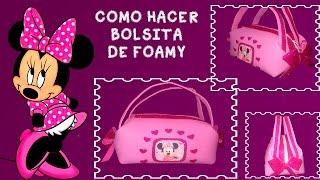getlinkyoutube.com-BOLSITA DE MINNIE MOUSE EN FOAMI FACIL Y ECONOMICO/COTILLONES FIESTA INFANTIL