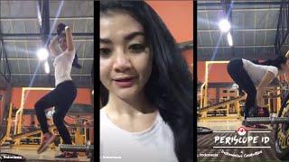 "getlinkyoutube.com-Gina Youbi 2 Racun ""Bokong keren at Gym"" Periscope"