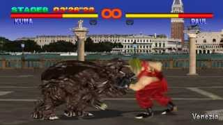 getlinkyoutube.com-Tekken 1 Walkthrough - Kuma