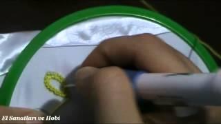getlinkyoutube.com-Punch İğnesi İle Nakış Tekniği