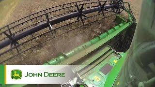 John Deere S-Series Combines - Field impression, Video 3