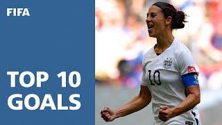 getlinkyoutube.com-TOP 10 GOALS: FIFA Women's World Cup Canada 2015 [OFFICIAL]