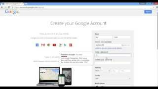 getlinkyoutube.com-How to create/make a Gmail/Google account without phone number/verification: easiest