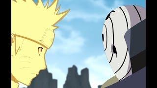 getlinkyoutube.com-Naruto,Kakashi,Guy and b vs Obito Part 1