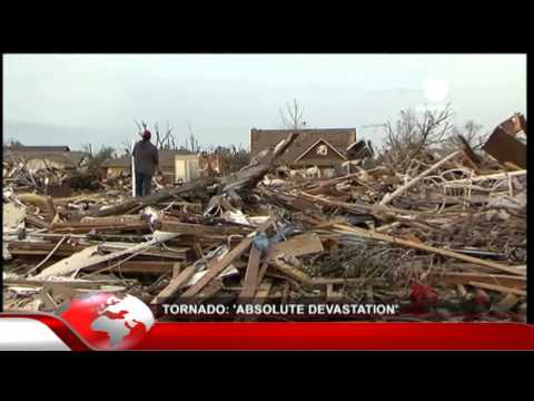 Tornado to Oklahoma city, Tornade F5