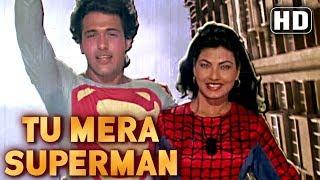 getlinkyoutube.com-Tu Mera Superman - Govinda - Kimi Katkar - Dariya Dil - Comedy  Week Special