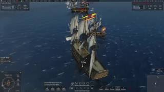 getlinkyoutube.com-Naval Action - When things get toasty
