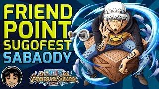 getlinkyoutube.com-Friend Point Sugofest Japan - Story Mode to Sabaody! [One Piece Treasure Cruise]