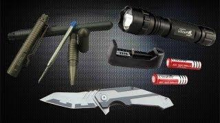 getlinkyoutube.com-Вскрытие посылки с Aliexpress (тактическая ручка, нож, фонарик и т.д.)