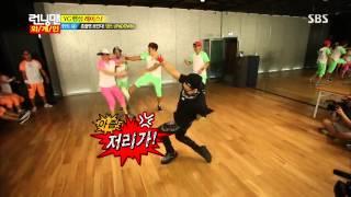 getlinkyoutube.com-130728  Dance Battle cut FIRE TaeYang,2NE1 and Running Man] @ RunningMan 156