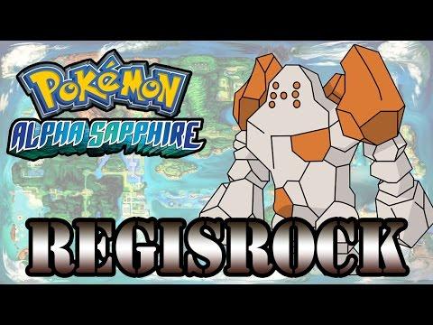 Caçando Lendários [Pokémon Alpha Sapphire] - Regirock