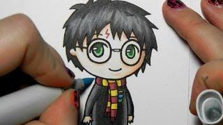 getlinkyoutube.com-Harry Potter Chibi Drawing