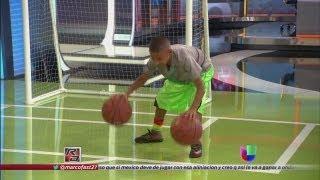 getlinkyoutube.com-Julian Newman puso a jugar basketball a Fernando Fiore - República Deportiva