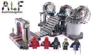 getlinkyoutube.com-Lego Star Wars 75093 Death Star Final Duel - Lego Speed Build Review