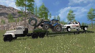 getlinkyoutube.com-Farming Simulator 2015 | Jene's Logging Inc. | Tract 1- Ep. 6
