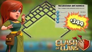 getlinkyoutube.com-TH9 +344! - VILLAGGIO SCALATA & TROFEI   Clash of Clans