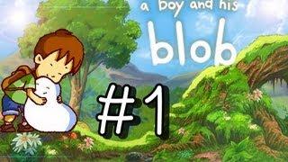 getlinkyoutube.com-A Boy And His Blob Walkthrough Part 1 (Wii) 100% ○Level 1-1○ (+intro)