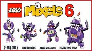 getlinkyoutube.com-LEGO  MIXELS  SERIES  6  MUNCHOS  MAX   -  Лего  Миксели  6  серия  МАНЧОСЫ   МАКС