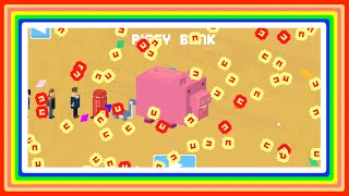 getlinkyoutube.com-$ Piggy Bank $ Crossy Road Complete Guide ☆ HOW & WHY you would buy him? + 90 character spin!