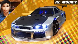 getlinkyoutube.com-RC Modify 7 | NISSAN Skyline GTR R34