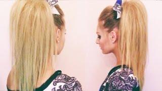 getlinkyoutube.com-Cheer Hair Tutorial