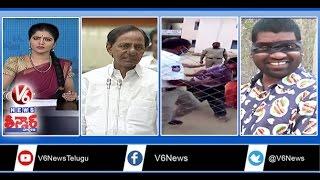TS Assembly   Drunken Man Attacks Traffic Police   Karimnagar Municipal Meeting   Teenmaar News