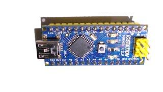 getlinkyoutube.com-Обзор Arduino Nano v3.0. Схема. Драйвер. Программирование, прошивка