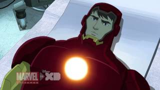 Iron Man Travels Through Time - Marvel's Avengers Assemble Season 2, Ep. 7 - Clip 1