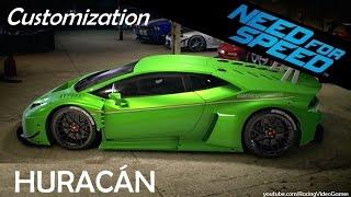 getlinkyoutube.com-Need For Speed 2015   Car Customization & Tuning - Lamborghini Huracan LP 610-4 Gameplay (PS4, Xbox)