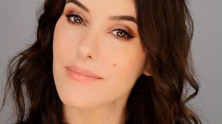 getlinkyoutube.com-Quick Glam Makeup  - Copper Smokey Eye