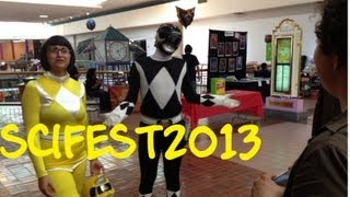 getlinkyoutube.com-SciFest2013. A Black Ranger In San Antonio. Hanging out with Friends. Dance Off.