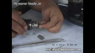 getlinkyoutube.com-Me-reamer Needle Jet untuk Konverter Kit