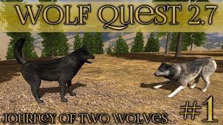 getlinkyoutube.com-Journey of Two Brothers || Wolf Quest 2.7 - Brothers Journey || Episode #1