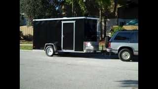 getlinkyoutube.com-Cargo Trailer Camper Conversion